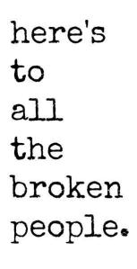 broken people